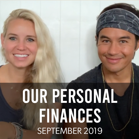 September 2019: Our Personal Finances