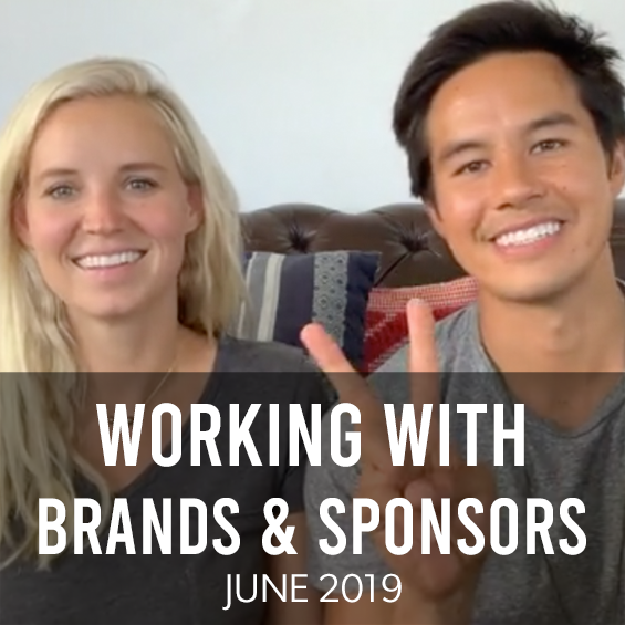 June 2019: Working With Brands And Sponsors On Social Media