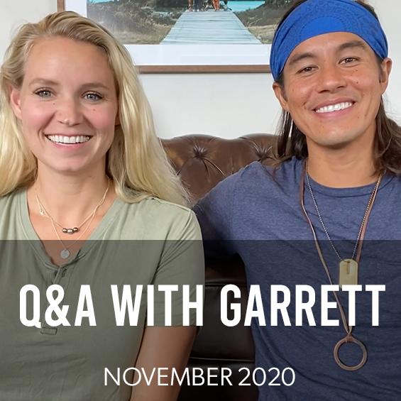 November 2020 : Q&A With Garrett