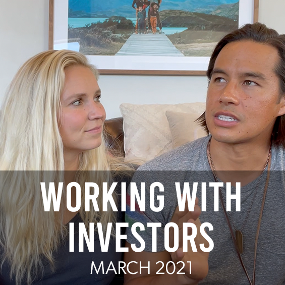 March 2021 : Working With Investors