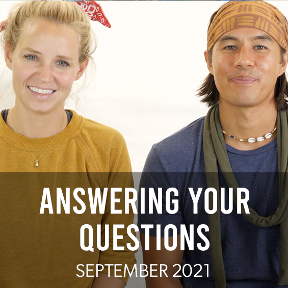 September 2021 : Answering Your Questions